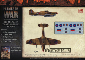 Flames of War: British: Mid War: Hurricane Flight (BBX40)