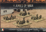 Flames of War: Mid War: Italian: 100mm Howitzer Battery (IBX12)