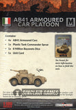 Flames of War: Mid War: Italian: AB41 Armored Cars (IBX16)