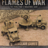 Flames of War: Mid War: Italian: 90mm Lancia Anti Tank Battery (IBX15)