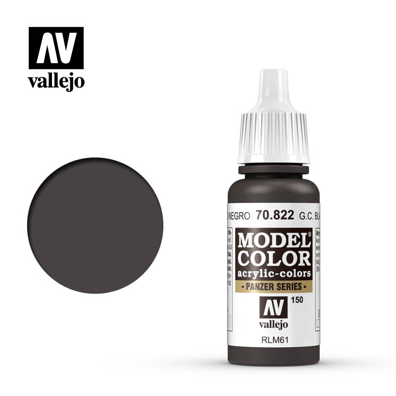 Vallejo Model Color (17ml): German Camo Black Brown (70822)