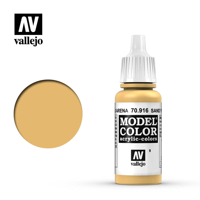 Vallejo Model Color (17ml): Sand Yellow (70916)