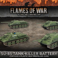 Flames of War: Mid War: Soviet: SU-85 Tank Killer Battery (SBX57)
