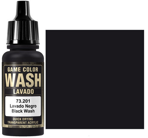 Vallejo Game Color Wash: Black Wash (73201)