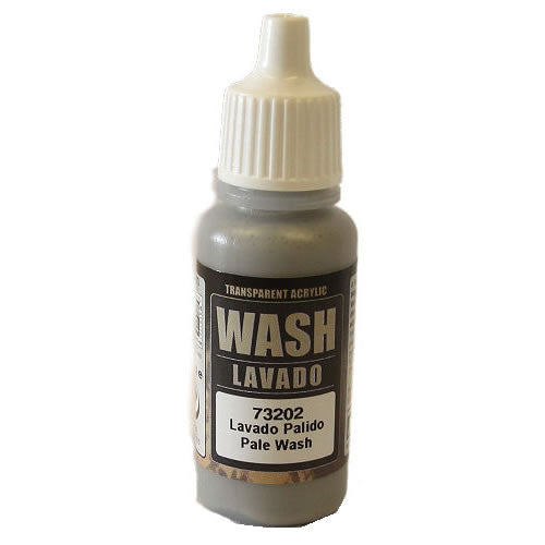 Vallejo Game Color Wash: Pale Gray Wash (73202)