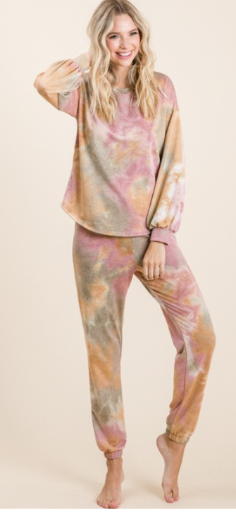 Tie Dye Lounge Set-Sold Separately