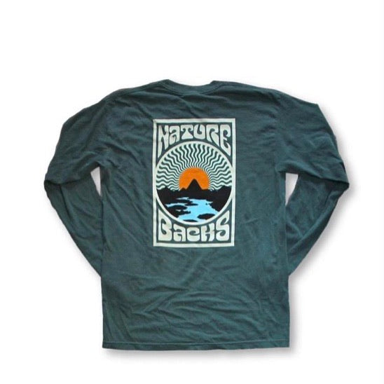 Nature Backs-Breeze LS Tee