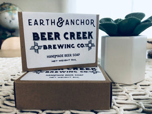 Earth & Anchor-Beer Creek Brewing Co. Soap