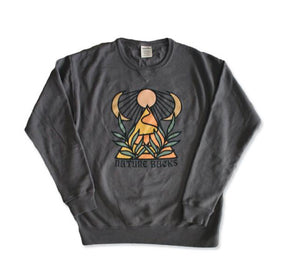 Nature Backs Giza Crew Sweatshirt-Stone