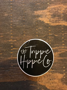 The Trippie Hippie Co. Logo Sticker