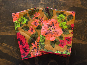 Floral Napkins-Set of 2