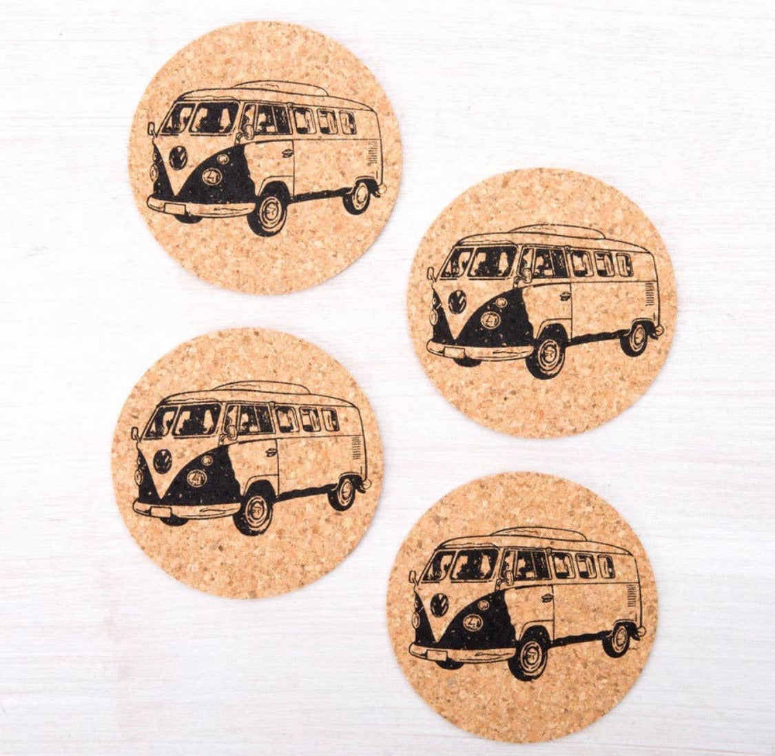 Retro VW Coasters