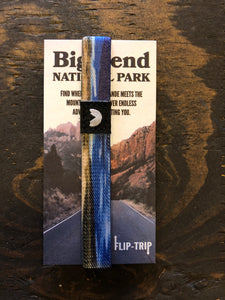 Nature Backs Flip-Trip Bracelet (Big Bend National Park)