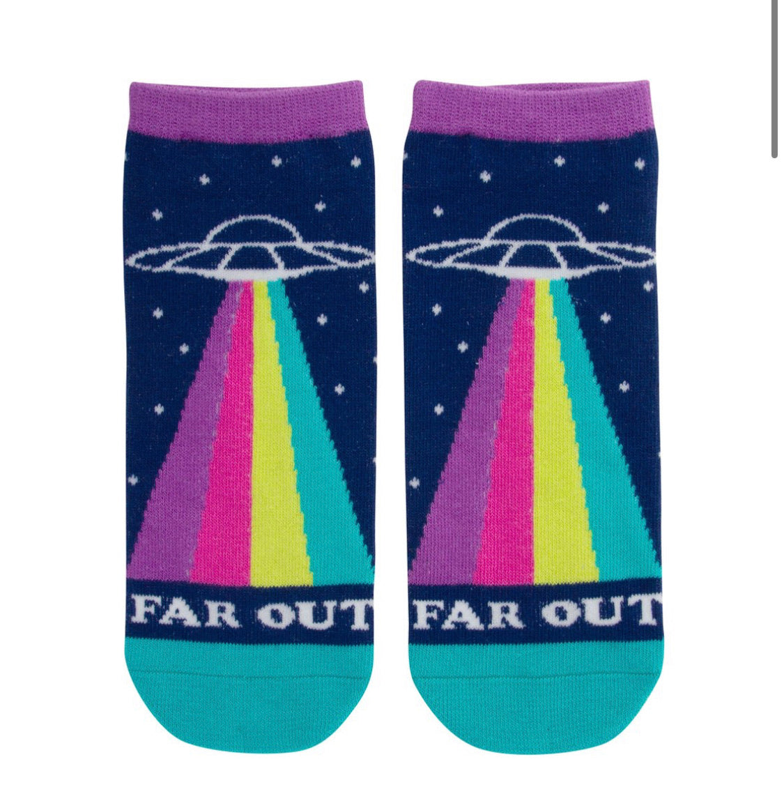 UFO Far Out Ankle Socks