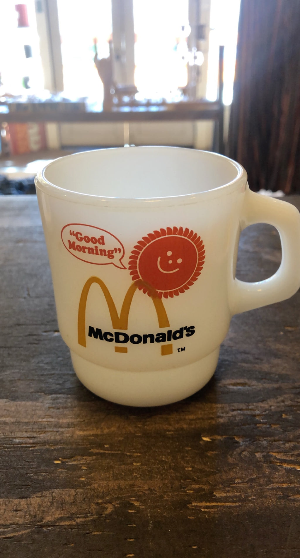 """Good Morning"" Vintage McDonald's Mug"