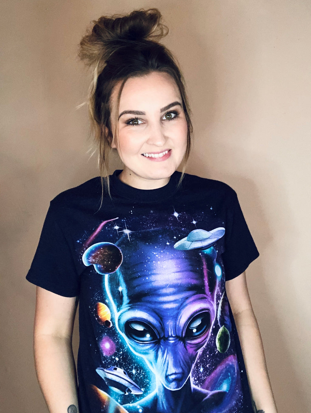 Far Out Alien Tee-Small