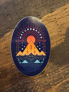 Nature Backs Journey Sticker