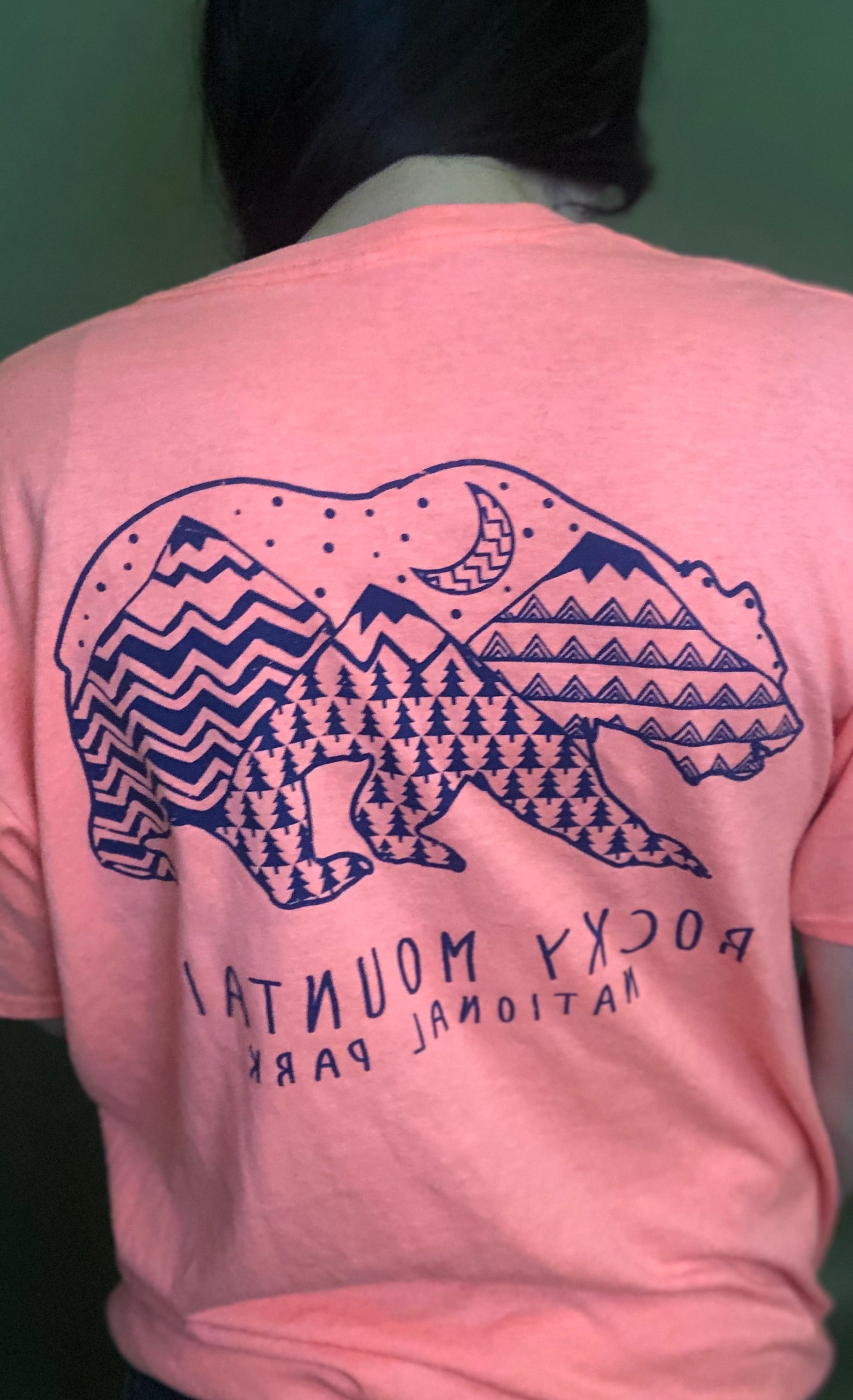Rocky Mountain National Park Tee-Size Large