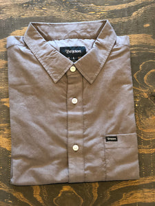 Men's Charcoal Button Up