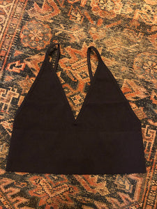 Basic Deep V Bralette