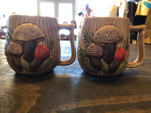 Mushroom Mugs (Set of 3)