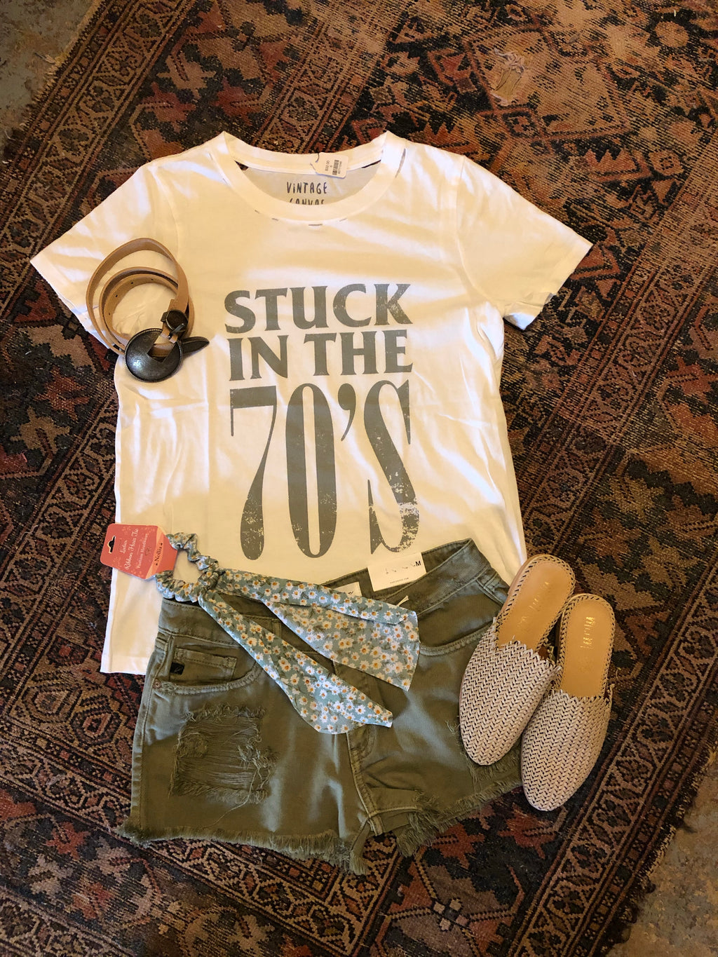 """Stuck in the 70's"" Tee"