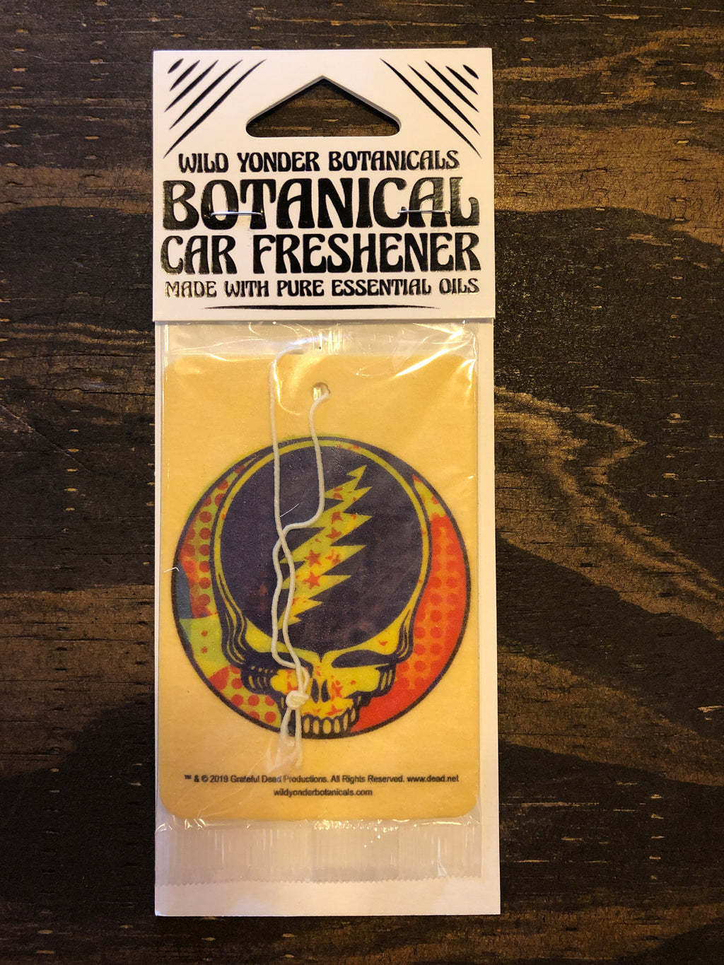 Grateful Dead Botanical Car Fresheners