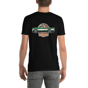 Grn Truck (Back) Short-Sleeve Unisex T-Shirt