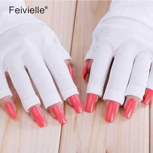 UV LED Gel Protection Gloves for Nail Art Treatment Anti Radiation lamp Manicure Tools