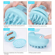 Load image into Gallery viewer, Electric Scalp Massage Brush Waterproof