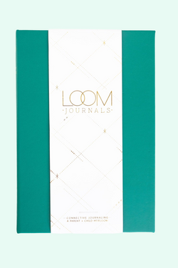 Loom Journal Our Love is Evergreen Green