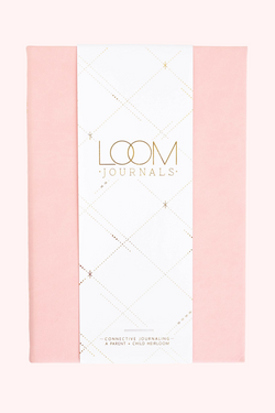 Loom Journal Pinky Swear Light Pink