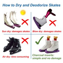 Load image into Gallery viewer, Skates Deodorizer Inserts (1 pair) - Stay Fresh Naturally