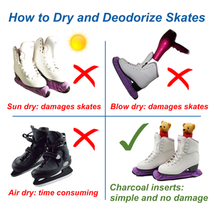 Skates Deodorizer Inserts (1 pair) - Stay Fresh Naturally