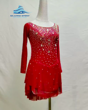 Load image into Gallery viewer, Figure Skating Dress #SD034