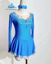 Load image into Gallery viewer, Figure Skating Dress #SD037