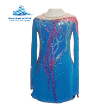 Load image into Gallery viewer, Figure Skating Dress #SD044