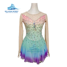 Load image into Gallery viewer, Figure Skating Dress #SD046