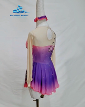 Load image into Gallery viewer, Figure Skating Dress #SD049