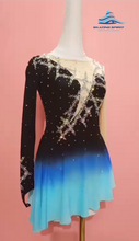 Load image into Gallery viewer, Figure Skating Dress #SD062