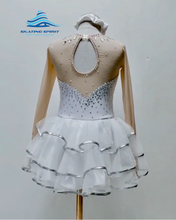 Load image into Gallery viewer, Figure Skating Dress #SD087