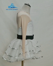 Load image into Gallery viewer, Figure Skating Dress #SD089