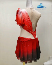 Load image into Gallery viewer, Figure Skating Dress #SD097