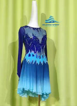 Load image into Gallery viewer, Figure Skating Dress #SD129