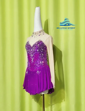 Load image into Gallery viewer, Figure Skating Dress #SD132