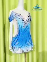 Load image into Gallery viewer, Figure Skating Dress #SD138