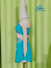 Load image into Gallery viewer, Figure Skating Dress #SD139