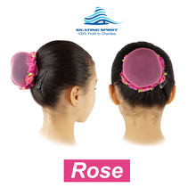 Load image into Gallery viewer, Colored Hair Nets for Ballet Bun (3 Pieces Set) - Attractive and Stylish