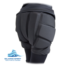 Load image into Gallery viewer, Padded Ice Skating Shorts Crash Pants - Skate with Confidence