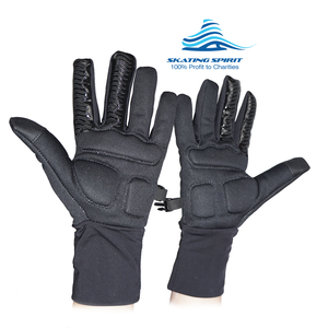 Padded Ice Skating Gloves - Keep Hands Dry, Warm, and Protected